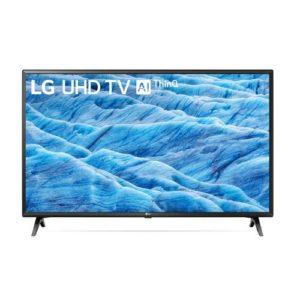 מסך טלוויזיה 43 אינץ LG UHD UM7340 Smart TV 4K HDR ThinQ AI