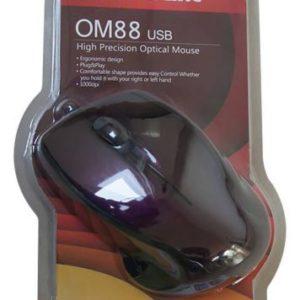 עכבר חוטי Silver Line OM88 USB במגוון צבעים - סגול