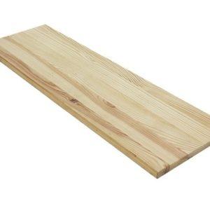 """מדף מעץ אורן 30X150  ס""""מ"""