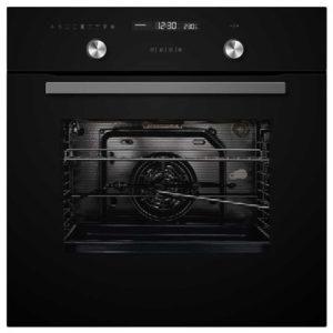 תנור בנוי Crystal BO70GW/GB קריסטל שחור
