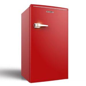 מקרר משרדי RETRO 90 ליטר עם תא הקפאה דגם BC-140 אדום