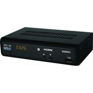 ממיר דיגיטלי DVB-T2 SKL06E Sakal