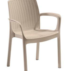 כסא באלי BALI קפוצ'ינו -כתר
