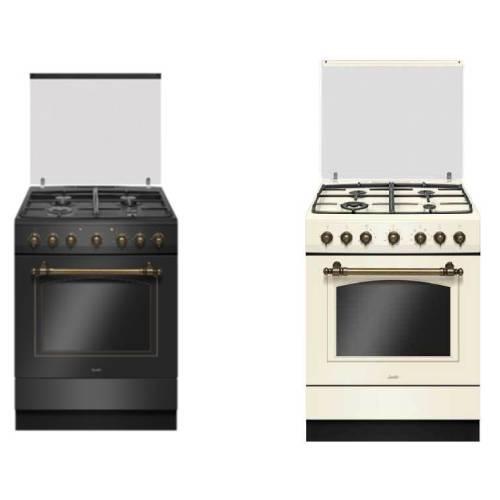 תנור משולב כיריים Sauter RUSTIC 7000B/C סאוטר