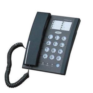 טלפון שולחני שחור INNOVA