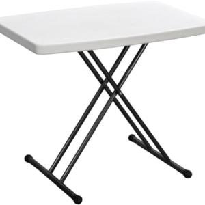 שולחן מתקפל 77/49.5 פלסטיק כתר
