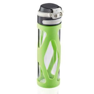 כוס זכוכית צבע ירוק