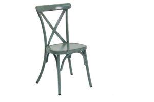 כסא וינטג איקס כחול/ dining chair 657S blue