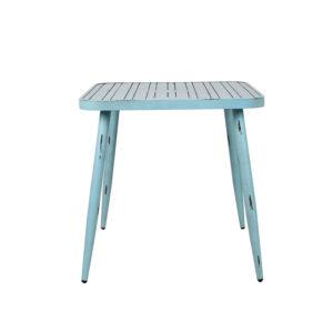 שולחן מרובע וינטג כחול/ table 714dt blue