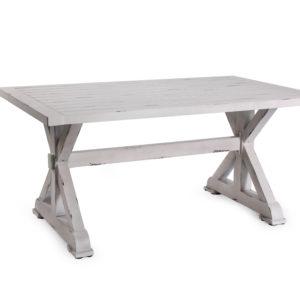 שולחן וינטג 160 לבן אונליין