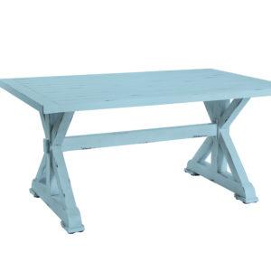 שולחן וינטג 160 כחול אונליין