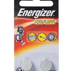 זוג סוללות 2XA76 כפתור אלקליין
