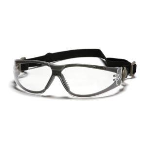 משקפי מגן+רצועה עדשה שקופה SIGNET