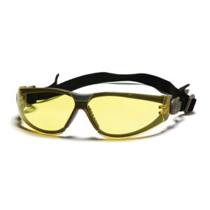 משקפי מגן+רצועה עדשה צהובה SIGNET