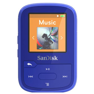 Sandisk Clip Sport Plus 16GB סנדיסק כחול