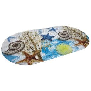 שטיח אמבטיה מעוצב דגם אלמוג