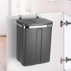פח פנימי נשלף לדלת ארון מטבח 12 ליטר