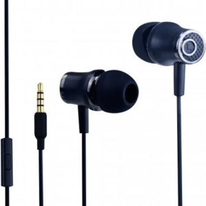 אוזניות חוטיות Silver Line FDH105 שחור