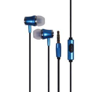 אוזניות חוטיות Silver Line FDH105 כחול
