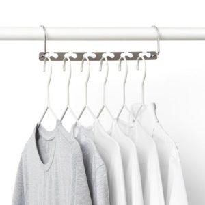 4 מתקנים מיוחדים מברזל לתליית קולבים בארון הבגדים