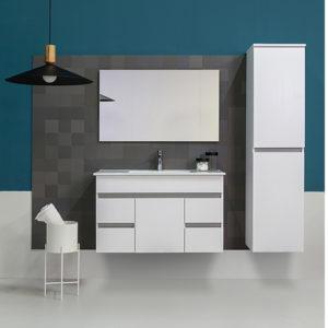 ארון אמבטיה 100+כיור + מראה מיאמי