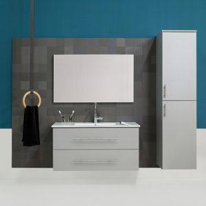 ארון אמבטיה JAZZ 60 +כיור + מראה
