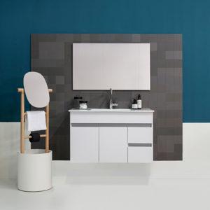 ארון אמבטיה שיקגו 60 כיור +מראה