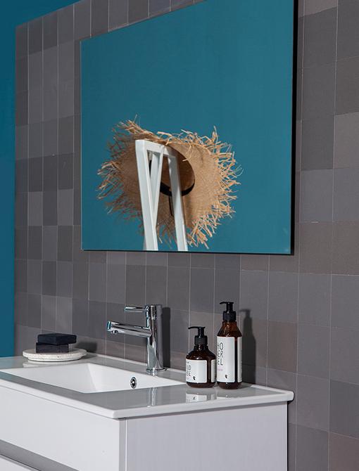 ארון אמבטיה וושינגטון 60 כיור +מראה