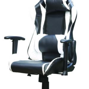 כיסא גיימינג VAMPIRE שחור/לבן