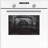 תנור בנוי Crystal BO70GW/GB קריסטל לבן