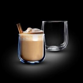 """סט 2 כוסות דאבל  360 מ""""ל LATTE VENEZUELA מבית Food appeal"""