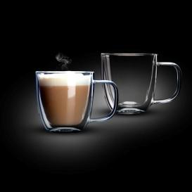 """סט 2 כוסות דאבל 480 מ""""ל LATTE ETHIOPIA מבית Food appeal"""