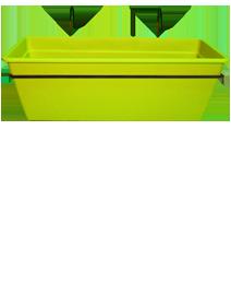 קיט אדנית גפן למעקה -ירוק ליים