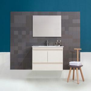 ארון אמבטיה ניו אורלנס 60 + כיור + מראה