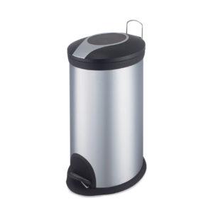 פח אשפה אובלי 30 ליטר ניקל