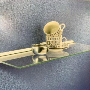 "קיט מדף זכוכית  60X20  ADIRA ס""מ"