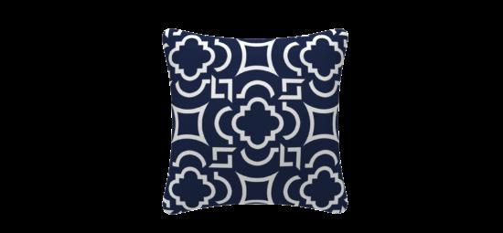 זוג כריות נוי Blue Flower