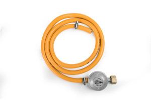 """קיט לגריל גז -וסת + צינור 1.5 לבלון 5 ק""""ג"""