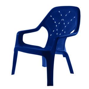 כסא קרן כחול KEREN
