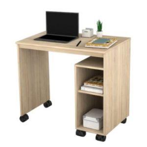 שולחן כתיבה ראשית + גלגלים