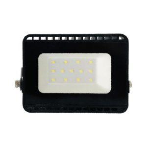 פנס הצפה שחור SMD IP65 10W MIRAGE אור חם