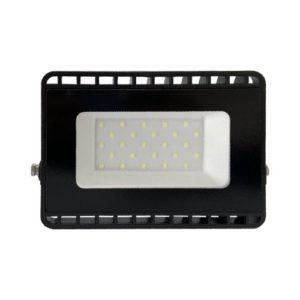 פנס הצפה שחור SMD IP65 20W MIRAGE אור קר