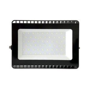פנס הצפה שחור SMD IP65 50W MIRAGE אור חם