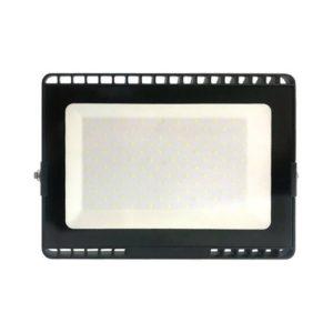 פנס הצפה שחור SMD IP65 100W MIRAGE אור חם