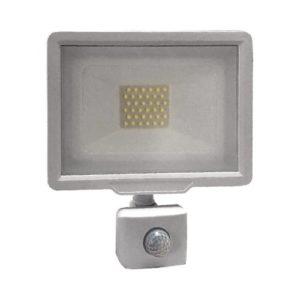 הצפה לבן SMD IP65 30W MIRAGE כולל חיישן אור קר