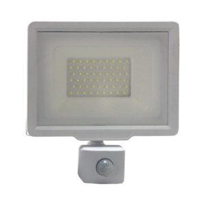 פנס הצפה לבן SMD IP65 50W MIRAGE כולל חיישן אור קר