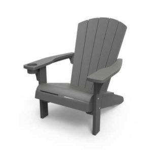 כסא אדירונדק ADIRONDACK אפור