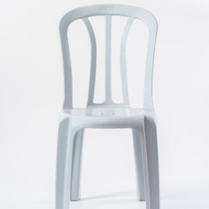 כסא קלאב 2 כתר-לבן