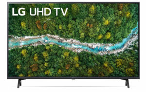טלוויזיה LG 43UP7750PVB 4K 43 אינטש