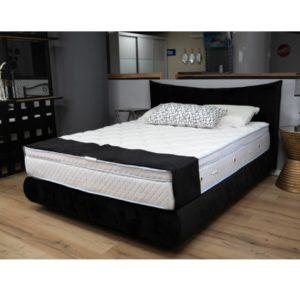 מיטה מעוצבת  בסיס מיטה מעוגל + בסיס נסתר  סימפל ראש דגם סימפל